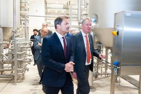 Xavier Bettel (Premier ministre) et Pierre Van Vynckt (Brasserie  de Luxembourg ) ((Photo: LaLa La Photo, Keven Erickson, Krystyna Dul))