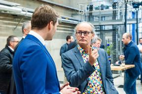 Gilles Nackaerts (Brasserie  de Luxembourg ) et Claude Turmes (Ministre de l'Énergie) ((Photo: LaLa La Photo, Keven Erickson, Krystyna Dul))