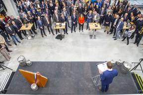 Plus de 250 invités étaient conviés lors d'une partie officielle puis festive. ((Photo: Brasserie De Luxembourg))