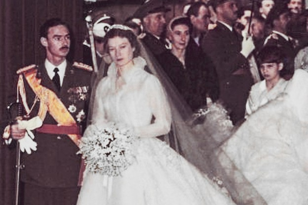 Le Grand-Duc Jean avait épousé le9 avril 1953 la Princesse Joséphine-Charlotte de Belgique. (Photo: Cour Grand-Ducale/Archives)