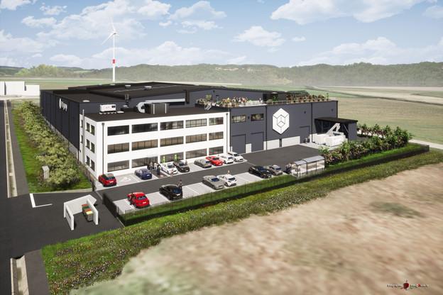 Le nouveau siège de Labgroup situé à Grass fait la part belle aux principes de RSE. (Photo: Labgroup)