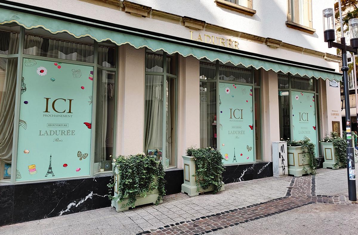 Le salon de thé situé à l'angle de la rue des Capucins et de la Grand-Rue devrait rouvrir d'ici la première semaine de décembre. (Photo: Paperjam)