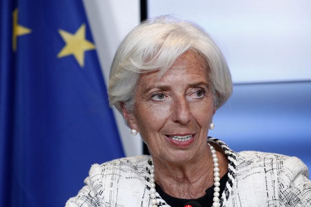 À la tête du FMI depuis 2011, Christine Lagarde succédera à l'Italien Mario Draghi fin octobre. (Photo: Shutterstock)