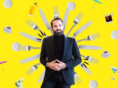 GabrielBoisante, comme bon nombre de restaurateurs à l'heure actuelle, ne demande qu'une chose: retravailler au plus vite et le mieux possible… (Design: Maison Moderne)