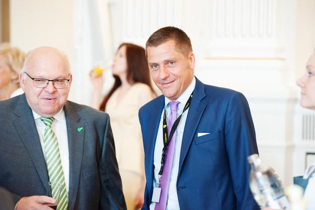 Patrick Dury (LCGB) et Laurent Mertz (Aleba). (Photo: Lala La Photo, Keven Erickson, Krystyna Dul)