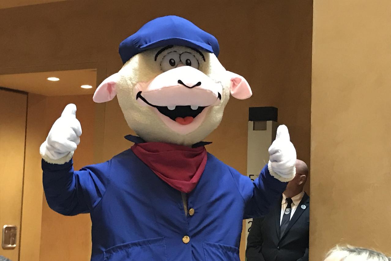 Lämmy, la mascotte de la Schueberfouer, sera présent sur la foire cette année. (Photo: Paperjam)