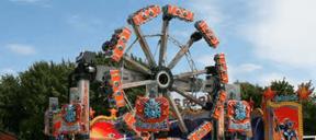 Le Transformer combine trois axes de rotation et fait des loopings à 16m de hauteur. ((Photo: Ville de Luxembourg))