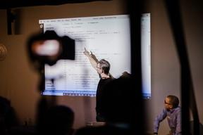 Nick Trogh speaking about API Development in Azure (Caroline Lequeux)