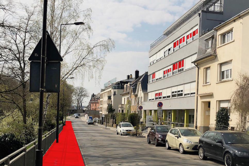 Les performances du projet d'inclusion sociale«Window Loving» se dérouleront sur le trottoir face à la Résidence Belle Vallée, à Hollerich. (Photo: Fable/Monogram)