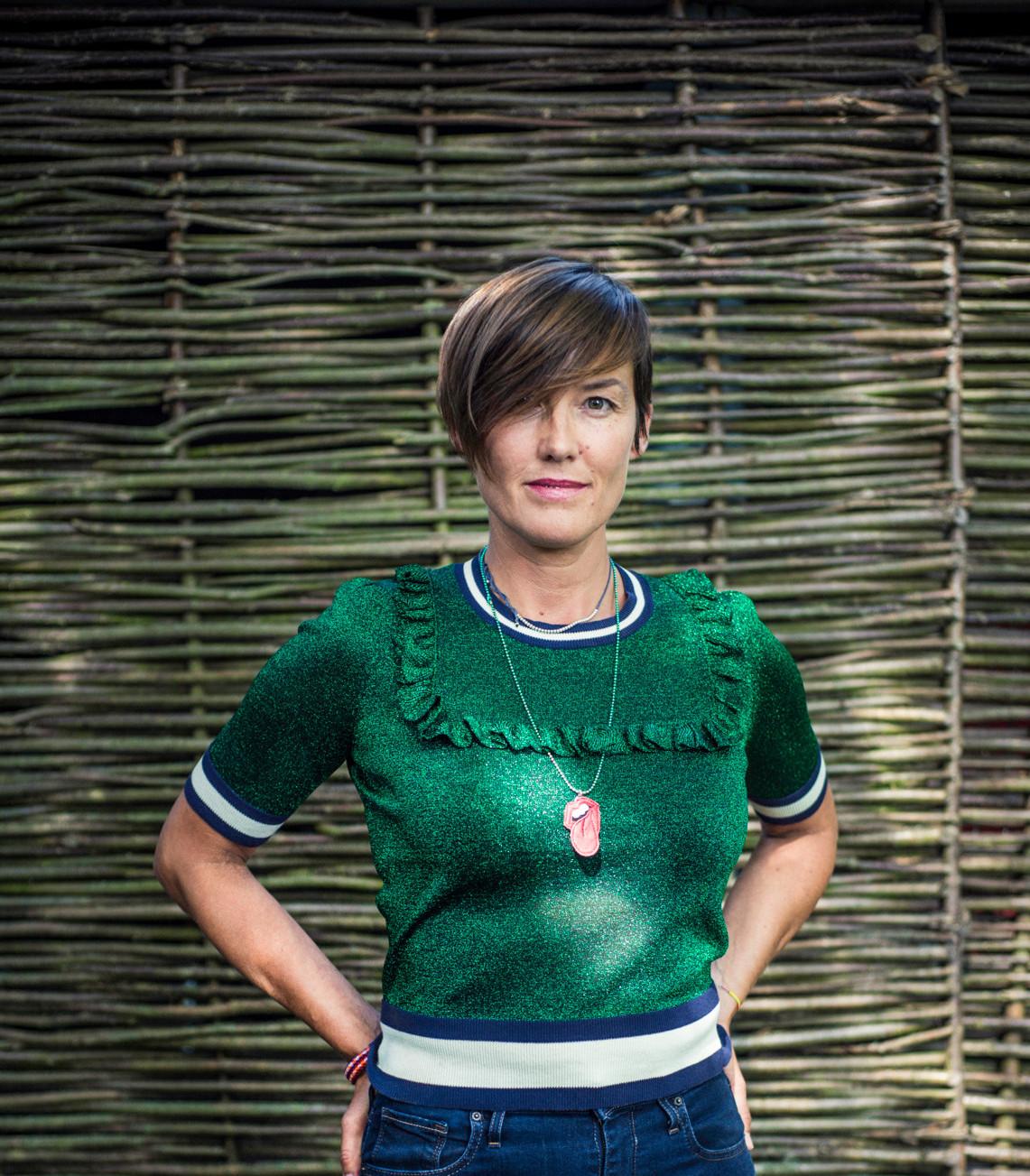 La réalisatrice FrédériqueBuck porte le projet d'inclusion sociale«Window Loving». (Photo: Mike Zenari/Archives Maison Moderne)
