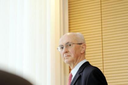 Jean-Nicolas Schaus a œuvré durant 40 ans dans le secteur financier. ( P hoto: David Laurent   /   Wiide  / Archives )