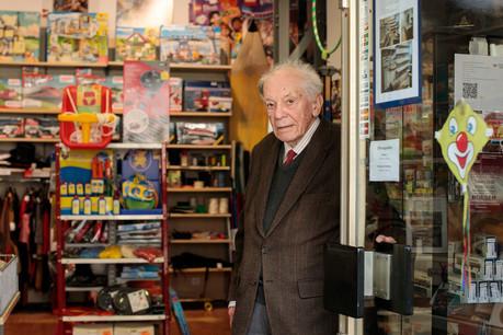 Pierre Simonis sera le dernier héritier de la Maison Lassner, après l'ouverture du tout premier magasin en 1860. En liquidation depuis le début du mois de janvier, la boutique fermera fin mars. (Photo: Matic Zorman)