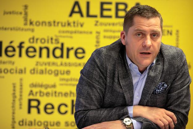 Laurent Mertz a entamé son mandat de secrétaire général en 2013. (Photo: Matic Zorman / archives Maison Moderne)