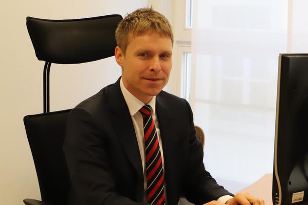 Laurent Scheeck travaille depuis neuf ans au service des relations internationales de la Chambre. (Photo: Chambre des députés)