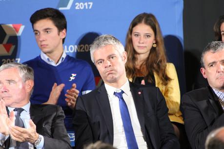 Lâché par les poids lourds de son propre camp, la pression était intenable pour Laurent Wauquiez. (Photo: Shutterstock)