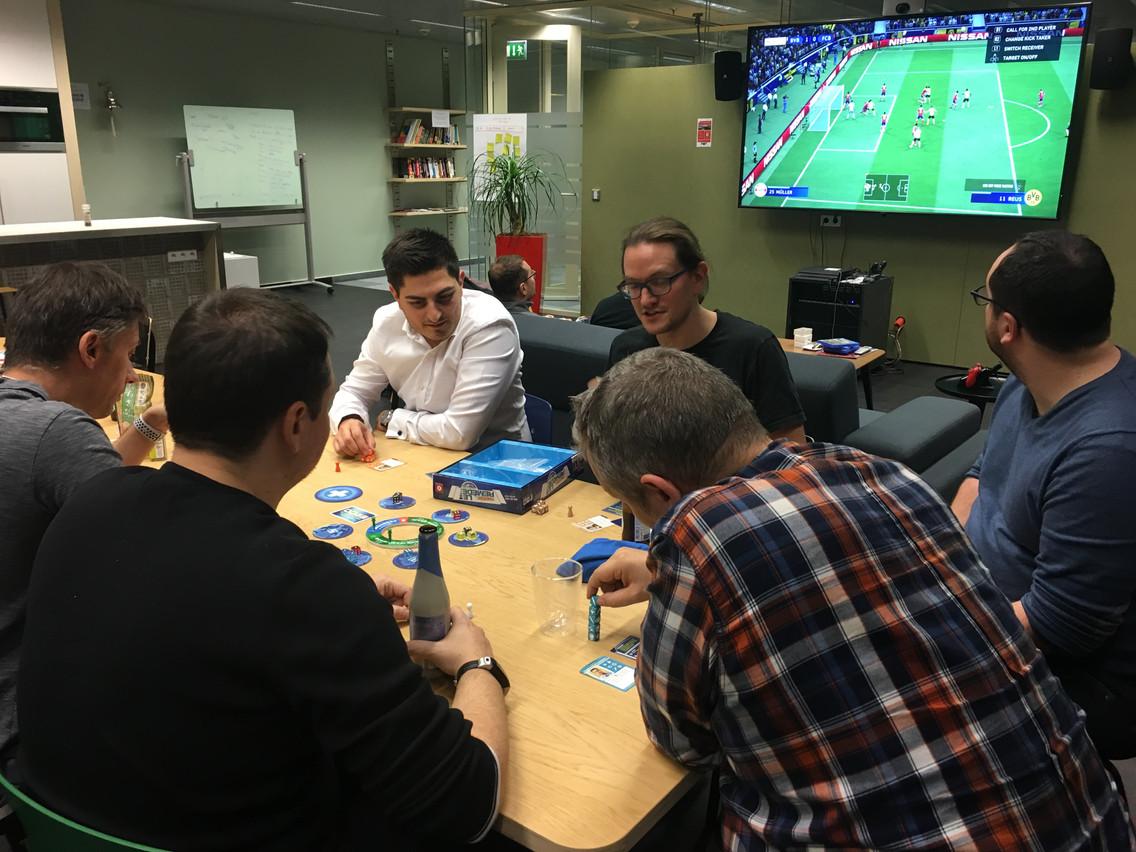 L'entreprise organise des soirées plus décontractées dans ses locaux. (Photo: Pictet)