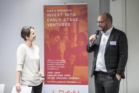 Larissa Best (LBAN) et Carlo Duprel (Deloitte) ((Photo: Blitz Agency))