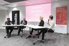Tomi Davies (African Business Angel Network), Assaf Topaz, Gosia Kramer (The Office) et Larissa Best (LBAN) ((Photo: Blitz Agency))