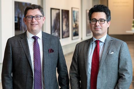 Philippe Wery, CEO et Ramon Hoyos, Lead Advisor Corporate Finance& Economic Modeling Photo: Arendt Business Advisory