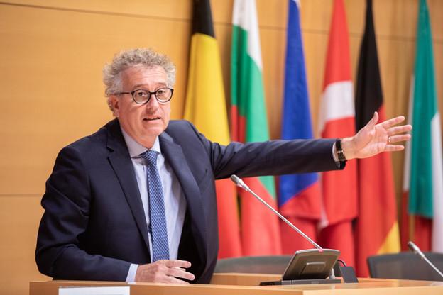 Pierre Gramegna, ministre des Finances, a déposé à la Chambre son budget 2019 le 5 mars. (Photo: Edouard Olszewski/Archives)