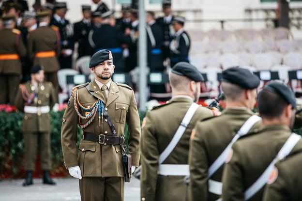 L'armée a été contrainte de modifier le tracé de son défilé, qui se tiendra au Kirchberg cette année.  (Photo: Edouard Olszewski/Archives)