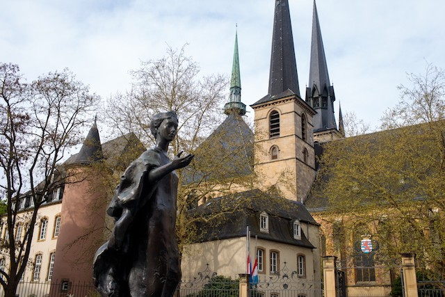 Les funérailles du Grand-Duc auront lieu le 4 mai à 14h en la cathédrale de Luxembourg. (Photo: Matic Zorman)
