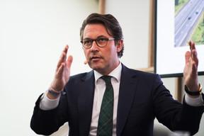 Andreas Scheuer (ministre fédéral des Transports et des Infrastructures numériques de l'Allemagne) ((Photo: Nader Ghavami))