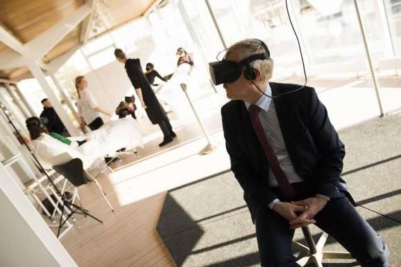Le Pavillon réalité virtuelle permet de découvrir le meilleur des productions VR récentes. (Photo: VDL/Patrick Muller)