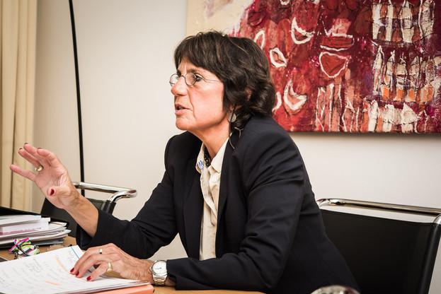Martine Solovieff l'assure: si elle avait eu l'impression que le ministre tentait d'infléchir la procédure du Parquet, elle «aurai[t] réagi». (Photo: Nader Ghavami / Archives)