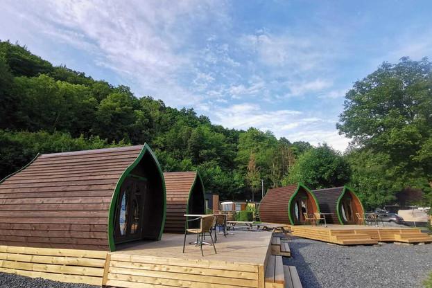 Au milieu des offres de glamping, ce camping de luxe. Les feuilles de Dirbach sont le meilleur prix hors auberges de jeunesse et emplacements de camping. (Photo: Camping de Dirbach)