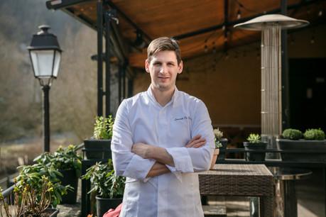 Après 7 ans passés chez Mosconi, le jeune chef Leonardo De Paoli ouvre ce week-end avec courage et enthousiasme OiO, son nouveau restaurant sur les bords de l'Alzette, à Clausen. (Photo: Romain Gamba / Maison Moderne)