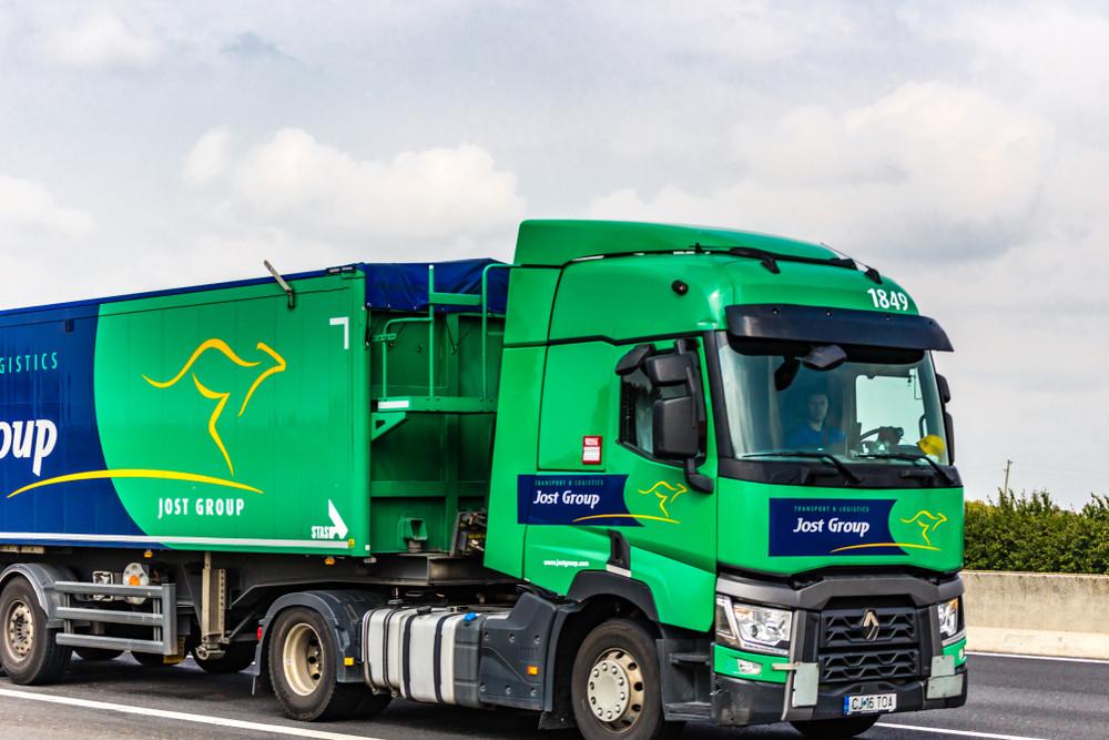 Jost Group sera privé de 346 camions suite à une enquête de la justice belge. (Photo: Shutterstock)