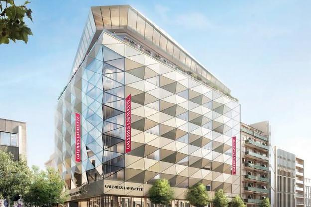 Les Galeries Lafayette comprendront six niveaux et une terrasse panoramique. (Illustration: Galeries Lafayette)