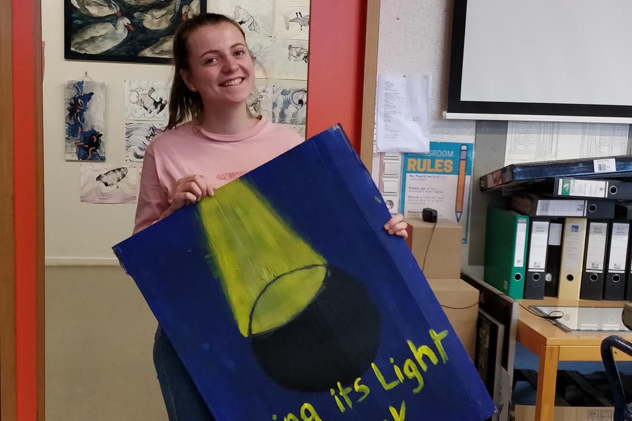 Élise Darras, 15 ans, est au cœur de l'organisation du mouvement Youth For Climate Luxembourg. (Photo:Youth For Climate Luxembourg)