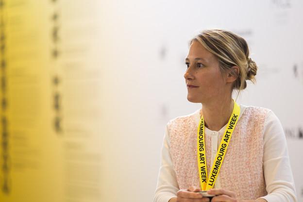 Leslie deCanchy œuvre désormais à la direction de Luxembourg Art Week. Photo: Tania Bettega