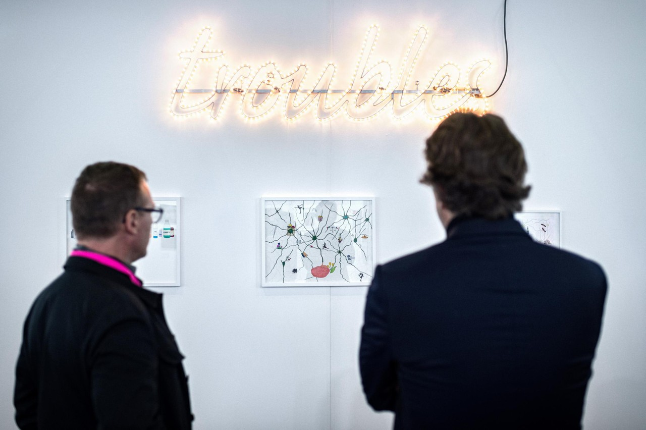 Luxembourg Art Week est l'occasion de découvrir et d'acheter des œuvres d'art. (Photo: Mike Zenari)