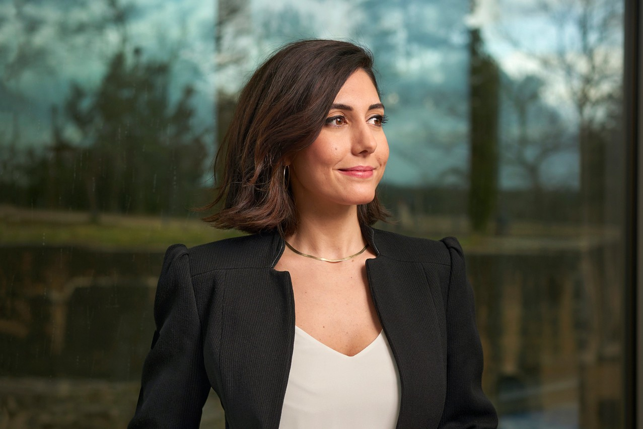 "Reyhan Güleç: ""Despite the effort the Grand Duchy is putting to eliminate the gender inequality on political decision-making, Luxembourg has fallen down 2 steps in the Gender Equality Index since 2005."" (Photo: Andrés Lejona/Maison Moderne)"