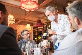Athanasios Karageorgeadis (PMI) et Lucas Ney (Vinaly) ((Photo: Simon Verjus/Maison Moderne))