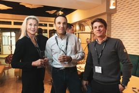 Simône van Schouwenburg (BCEE Spuerkess), Hervé Kias (Oriskany) et Adrien Trudelle (Golf Planet Events) ((Photo: Patricia Pitsch / Maison Moderne))