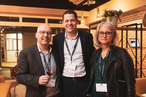 Alexandre Wagner (Grand Terroir Sélection), Alexandre Bodak (GCP Consulting) et Bénédicte Hiernaux (Dominno) ((Photo: Patricia Pitsch / Maison Moderne))