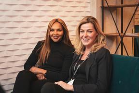 Valerie Campbell et Gosia Kramer (The Office) ((Photo: Patricia Pitsch / Maison Moderne))