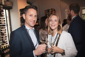 Paul Vinandy et Evelyne De Decker (Lombard International Assurance) ((Photo: Jan Hanrion/Maison Moderne))