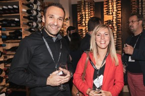 Hervé Kias (Oriskany) et Céline Derochette (Lombard International assurance) ((Photo: Jan Hanrion/Maison Moderne))