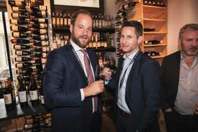 Benjamin Derr et Paul Vinandy (Lombard International Assurance) ((Photo: Jan Hanrion/Maison Moderne))