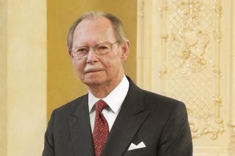 Le Grand-Duc Jean est âgé de 98 ans. (Photo: Cour Grand-Ducale)