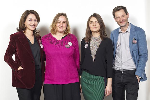 Florence Reckinger-Taddeï (présidente de Lët'z Arles), Claudia Passeri, Krystyna Dul et Sam Stourdzé (directeur des Rencontres d'Arles). (Photo: Romain Girtgen/CNA)