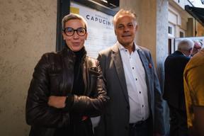 Sam Tanson (Ministre de la Culture) et Jo Kox (Ministère de la Culture) ((Photo: Nader Ghavami/Maison Moderne))