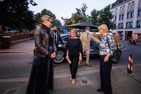 Sam Tanson (Ministre de la Culture), S.A.R. la Grande-Duchesse Maria Teresa et Simone Beissel (CSV) ((Photo: Nader Ghavami/Maison Moderne))
