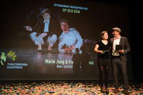 Marie Jung et François Camus ((Photo: Nader Ghavami/Maison Moderne))