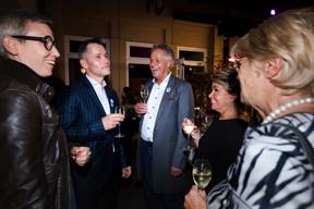 Sam Tanson (Ministre de la Culture), Jo Kox (Ministère de la Culture), S.A.R. la Grande-Duchesse Maria Teresa etSimone Beissel (CSV) ((Photo: Nader Ghavami/Maison Moderne))